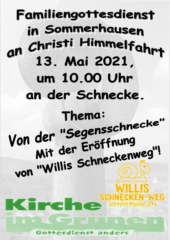 Christi Himmelfahrt 2021